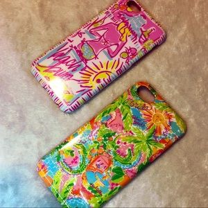 Lilly Pulitzer iPhone 6/6s/7/8 Case Set in Kini in